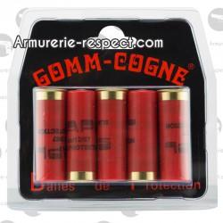 BALLES CAOUTCHOUC DE PROTECTION - GOMM-COGNE