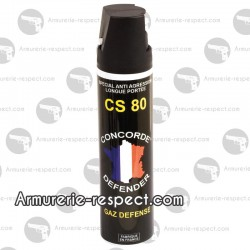 Gazeuse au gaz CS 75 ml Concorde Defender