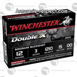 10 cartouches Double X Magnum 12/76 plomb cuivré