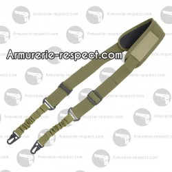 Sangle 2 points couleur olive Firepower Bungee OD