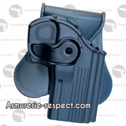 Holster de ceinture rigide pour Taurus PT 24/7 Swiss Arms