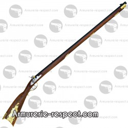 Carabine cal 45 de Fort Alamo à percussion David Pedersoli