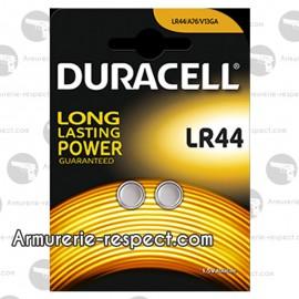 Piles LR44 1,5v Duracell