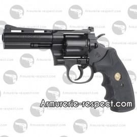 """Colt Python noir 4"""" réplique airsoft co2 métal"""