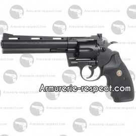 "COLT PYTHON noir 6 "" Co2 metal 6mm 6 billes Energie 1,2 J. Maxi"