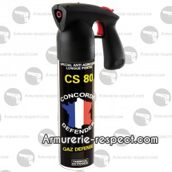 AEROSOLS GAZ CS 300 ml - CONCORDE DEFENDER
