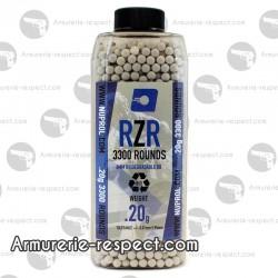3300 billes bio 0.20g RZR Nuprol en bouteille