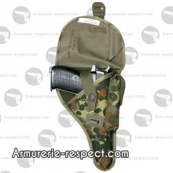 Holster en tissu camo pour pistolet P1 P38
