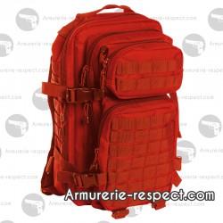 Sac à dos militaire US rouge 20 litres