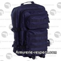 Grand sac à dos bleu foncé 36 litres