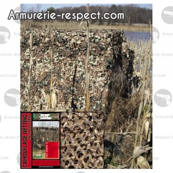 Filet de camouflage realtree 6x2.2 mètres