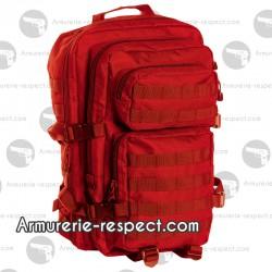 Grand sac à dos rouge sécurité 36 litres