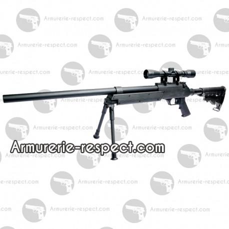 Urban sniper fusil airsoft avec lunette et bipied ...