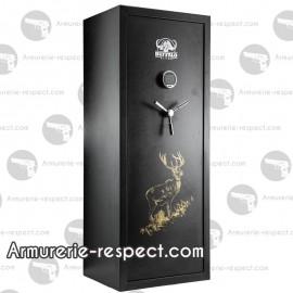 Coffre fort Buffalo Digital Premium à combinaison pour 18 armes 150x58x46