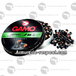 100 plombs Gamo Lethal 4.5 mm