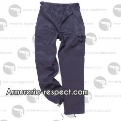 Pantalon US bleu foncé avec des renforcements