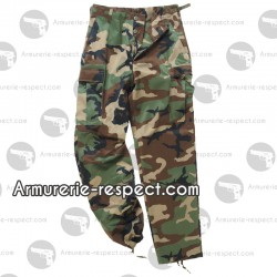 Pantalon US woodland type ranger