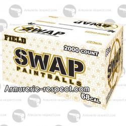 2000 billes 0.68 Swap Field à coque dure pour le paintball