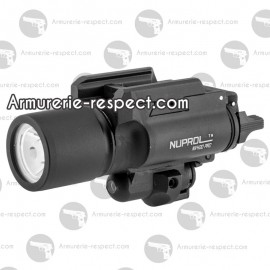 Lampe et laser tactical NX400 Nuprol 400 lumens
