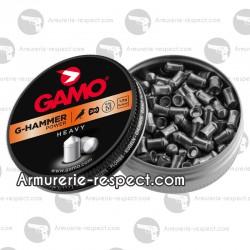 200 plombs Gamo G-hammer lourds en 4.5 mm