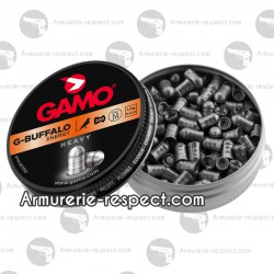 200 plombs Gamo G-buffalo 4.5 mm lourds pénétrants