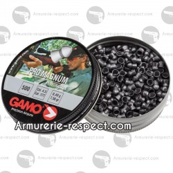 500 plombs Gamo Pro Magnum 4.5 mm