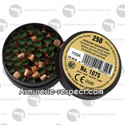 250 amorces cannelées RWS pour poudre noire