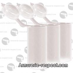 25 tubes à poudre noire Pietta