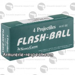 4 cartouches Flash Ball calibre 44