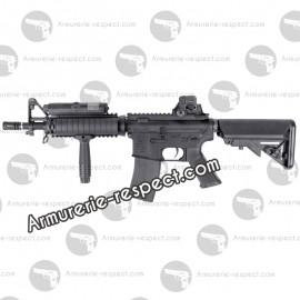 Réplique Colt M4A1 CQBR AEG avec crosse Crane Sopmod