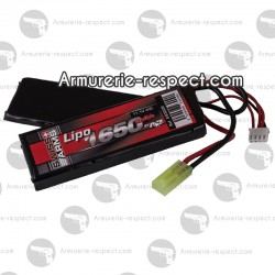 Batterie Swiss Arms  Lipo 11.1V 1650 mAh 40C twin