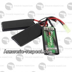 Batterie LiFe 9.9V 1450 mAh 20V triple Swiss Arms