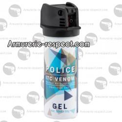 Bombe lacry au gel ITC venom Police 50 ml