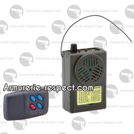 Appeau acoustique électronique MR104 Sonido avec télécommande