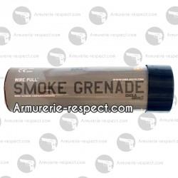 Fumigène à goupille fumée noire