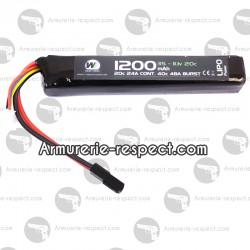 Batterie LiPo 11.1V 1200mAh 20c
