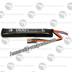 Batterie LiPo 7.4V 1300 mAh 20c Nuprol