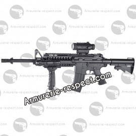 (180837) WARINC COLT M4 A1 R.I.S electrique + options 500 billes Energie 0,16 J. Max