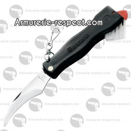 Couteau à champignons Maserin manche noir