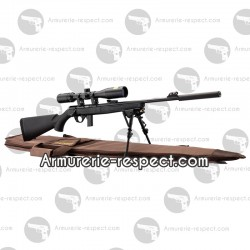 Pack Mossberg Plinkster 22LR sniper + lunette + housse + silencieux + bipied