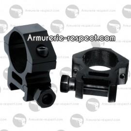 Colliers bas pour lunette de tir UTG (25.4 mm) et rail de 22 mm