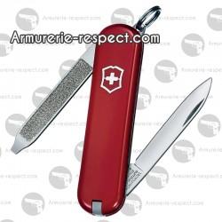 0.6123 Victorinox couteau Suisse Escort rouge