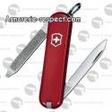 0.6123 Victorinox couteau Suisse Escort rouge 6 fonctions