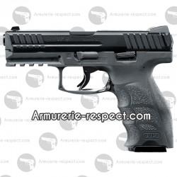 Pistolet HK VP9 gris culasse métal à billes d'acier 4.5 mm