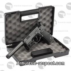 Pack CZ75D avec mallette + laser + silencieux
