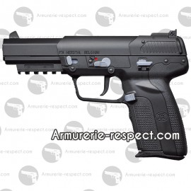 FN Five-seveN Co2 BAX 6mm culasse mobile 22 billes Energie 1 J.