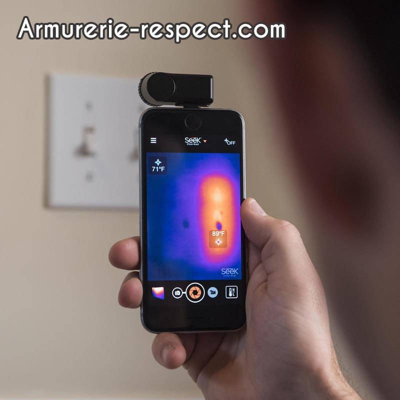 Camera Thermique Pour Iphone