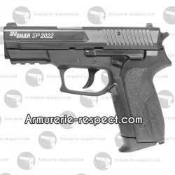 Sig Sauer SP2022 à billes d'acier 4.5 mm culasse fixe en métal