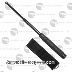 Matraque télescopique 53 cm noire