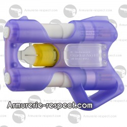 Guardian Angel III violet avec poignée pistolet